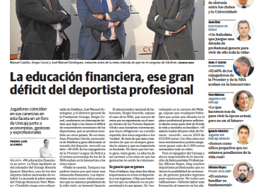 La educación financiera, ese gran déficit del deportista profesional